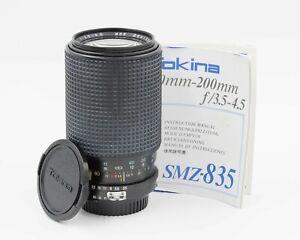 Tokina 80-200mm f/3.5-4.5 Telephoto Zoom Lens f/ Nikon F mount AI SMZ-835