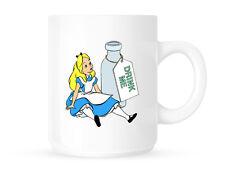 ALICE nel paese delle meraviglie DRINK ME-Tazza / Coppa-Lewis Carroll IDEA REGALO
