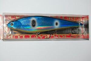 "lucky craft pointer 200 slow sinking 8"" 2 1/2oz flash blue herring big fish lure"