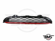 BMW MINI JCW John Cooper Works Front Grill With Chilli Red Band F56 F55
