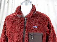 Patagonia Vintage Classic Retro-X Fleece Jacket Mens sz L large red thick 23024
