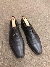 Hugo Boss Dress Shoes Size 8.5 Brown Leather Oxfords U-35