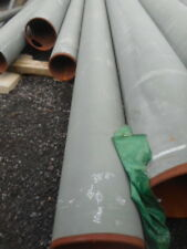 """Steel tube 10mm wall 38' 11.8m long  18""""od drainage pipe"""