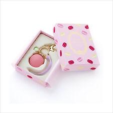 LADUREE Japan ❤ Bag Chain Key Ring Macaron Rose Pink w/ Original Box