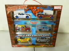 2004 Marvel Spiderman Pull Back Die Cast Car Collection