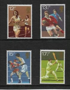 1980 GB. - Sports Centenaries - Complete Set - Mint and Never Hinged.