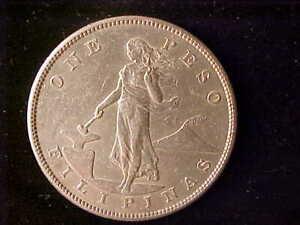 PHILIPPINES ONE PESO 1905-S