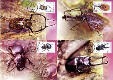 Thailand, Maxi Card, 2001 Insects 2nd Series