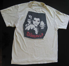 THE DAMNED RARE VINTAGE 70s 80s PUNK ROCK GOTH TOUR CONCERT PROMO TEE T-SHIRT