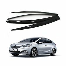 Sun Rain Wind Smoke Window Visor Vent Door Visor For KIA CERATO/FORTE/K3 2013-15