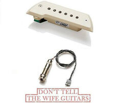 EMG ACS IVORY Acoustic Pickup ( FREE WORLDWIDE SHIPPING ) Bajo Sexto Or Quinto