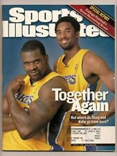 2001 Sports Illustrated Magazine June 15th Lakers Win Nba Championship