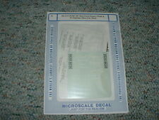 Microscale decals N 60-215 ATSF 50' Box Cars Super Chief El Capitan  A73