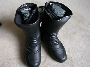 oxford motorcycle boots size 4