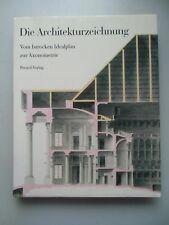 Architekturzeichnung vom barocken Idealplan zur Axonometrie Zeichnungen .. 1987