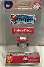 Worlds Smallest Fisher Price Classic Chatter Phone Worlds Smallest Toy