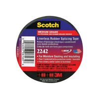 3M  Scotch  3/4 in. W x 15 ft. L Black  Rubber  Electrical Tape