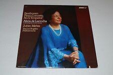 Beethoven: Piano Concerto No. 5~Alicia de Larrocha~Zubin Mehta~London CS7121