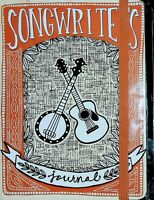 Hardcover Songwriter's Journal Blank Peter Pauper Press Brand New and Sealed