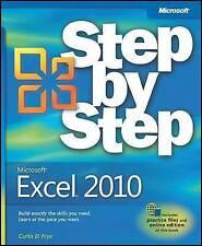 Microsoft Excel 2010 Step by Step by Curtis D. Frye (Paperback, 2010)