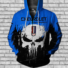 CHEVROLE CAMARO-TOP GIFT-Men's Zipper Hoodie 3D- SIZE S TO 5XL