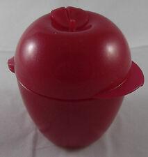 Tupperware Apfel Apfeldose Dose Behälter Box Pink Rosa Glitzer Neu OVP