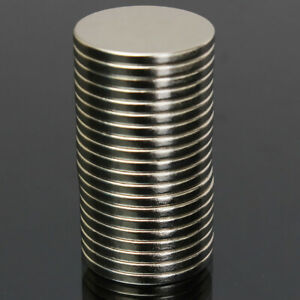 20Pcs 20x2mm N52 Round Disc Super Strong Rare-Earth Neodymium Magnets Prop