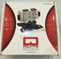 Apple iPhone 4 & 4S Sports Waterproof Enclosure and Mounting Kit Black Q Mountz