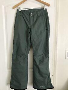 Columbia Womens Bugaboo Arctic Trip Omni Snow Ski Pants Green XS $100