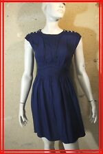 0e4c945d7ef KOOKAI Taille 34 Superbe robe bleue en viscose blue dress kleid