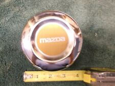 "Mazda Vintage Chrome Metal Center Cap ~ Diameter 4 1/8"" (approx.) No Part #"