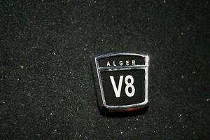 Sunbeam Alger Alpine V8 Fender & Trunk Badges Set of 3 NEW