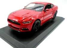 Maisto 2015 Red Ford Mustang GT Diecast Muscle Car Vehicle