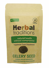 Celery Seed Capsules - for blood pressure support - 100% vegetarian