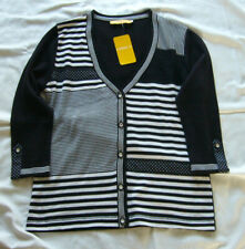 BiBA/CRISCA Strickjacke Jacke Lovely Stripes navy Gr.L***NEU
