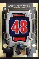 Torii Hunter Twins 2003 Upper Deck #TH1 Sweet Spot Patches Jersey Card