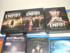 Blu-ray LOT of 18 GREAT COND +More-BOARDWALK EMPIRE 1-3 & GOTHAM 1-2 COLLECTION