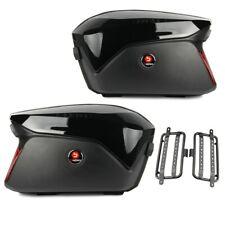 Motorrad Koffer + Kofferträger Seitenkoffer Universal Bagtecs PX74 schw B-Ware