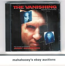 The Vanishing (Jerry Goldsmith) SOLD OUT Varese Ltd Ed 3,000 OOP CD Soundtrack