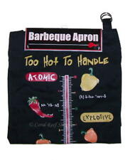 Kitchen Barbeque Apron Printed TO HOT TO HANDLE One Size New in Package