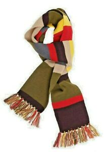 DOCTOR WHO 4th Doctor (Tom Baker) - 6 Foot Long Knit Scarf (Makes a great gift)