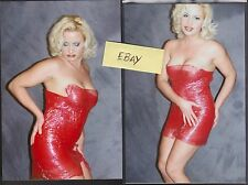 4 X 6 COLOR WRESTLING PHOTO ~VINTAGE SEXY~SUNNY#3