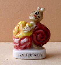 Fève Les Escargots et les Comtoises - 2003 - La Gougère Chou Fromage