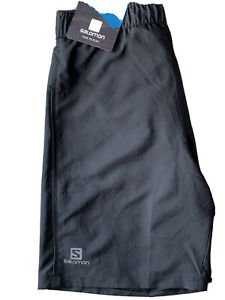 """Salomon Cairn Shorts Men's 9"""" Inseam(NWT)Size S Best Comfort ☀️❄️🌧Trail Running"""
