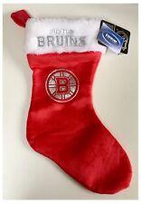 """Boston Bruins Hockey sobre hielo NHL Logo Navidad Habitación Brillo 17"""" media"""
