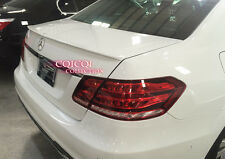 Painted M-BENZ 10~16 W212 E class AMG type trunk spoiler color-149 white @US