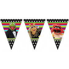 Il Muppets Buon Compleanno Festa a Tema Bandiera Bandierine banner lunghi 3m