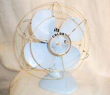 Petit ventilateur sur pied Calor Bivolt bleu ciel Vintage années 50-60 déco