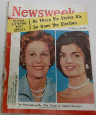 Newsweek Magazine Jackie Kennedy Onassis October 17, 1960 100716R2
