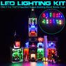 USB LED Light Lighting Kit For LEGO 10273 Haunted House Building Block Bricks ∏
